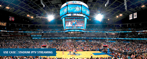 VITEC IPTV System is a Slam Dunk for the Orlando Magic and Amway Center