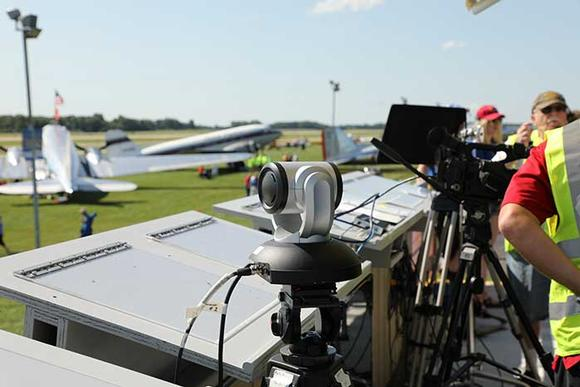 RoboSHOT UHD Cameras Used at Air Show in Oshkosh