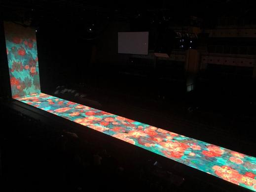 UDX-4K40 projectors shine at opening and closing of FINA 2019