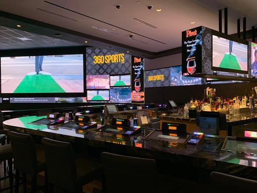 Peerless-AV Creates Custom SEAMLESS LED Video Wall Mounting Systems for Agua Caliente Casino
