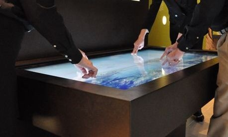 CyberTouch Multi-Touch Table Featured in the Dinosaur Hall at the Natural History Museum of Los Angeles County