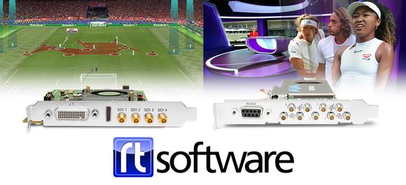 RT Software Standardizes on AJA I/O Solutions for Fast, Reliable Graphics Playout