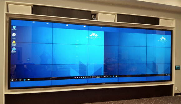 CyberTouch 24' Touch Wall in Calgary, Canada