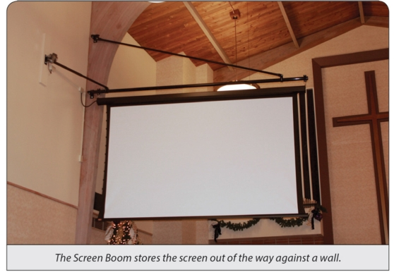 Screen Boom Swings into Action