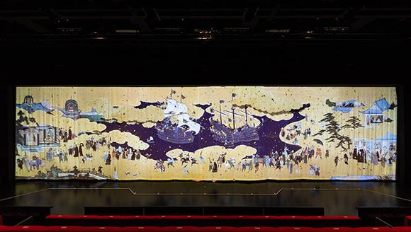 Senzoku Gakuen College of Music's Digital Curtain