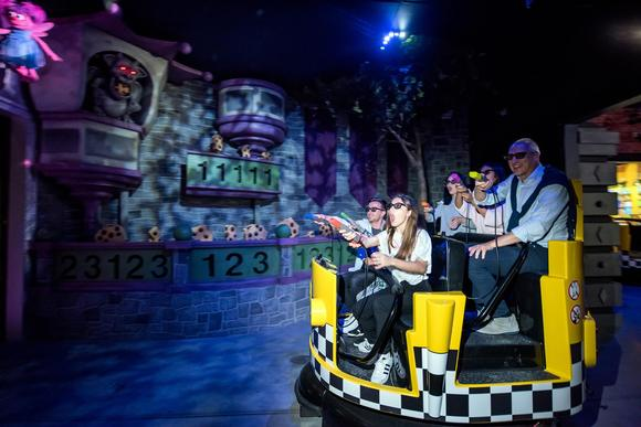 Barco brings vivid projections to Sesame Street dark ride