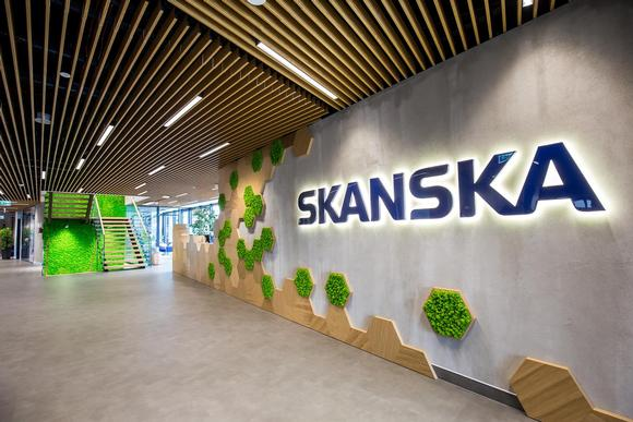 Skanska 'Spark' Headquarters in Warsaw, Poland