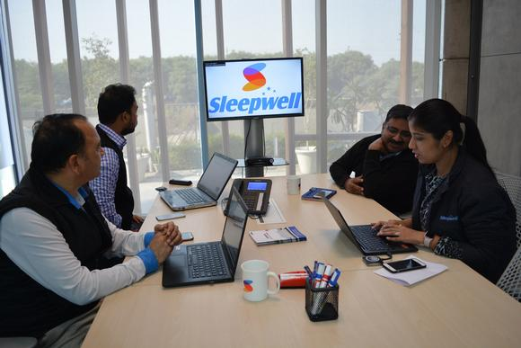 "Barco ClickShare was our only choice to transform our meeting rooms into ""stress-free zones"", says Sheela Foam Ltd."