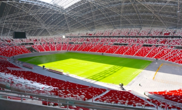 Symetrix provides the Edge for Singapore Sport Hub's Dante-based infrastructure