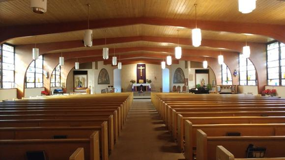 Tech Electronics Retrofits St. Elizabeth of Hungary with New Media Room