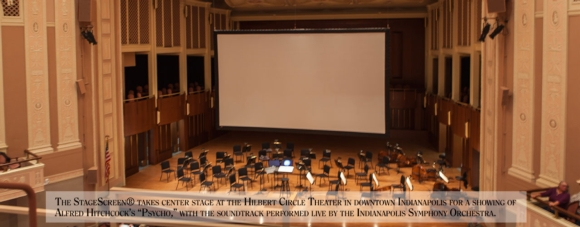 The StageScreen at the Symphony