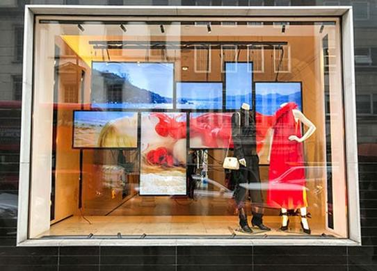 Stella use of Datapath Fx4 video wall controllers at flagship fashion stores