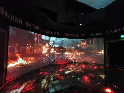 Stunning immersive experience honors Russian heroes of World War Two