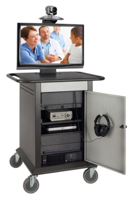 Texas Tech Health Sciences Center Telemedicine Cart