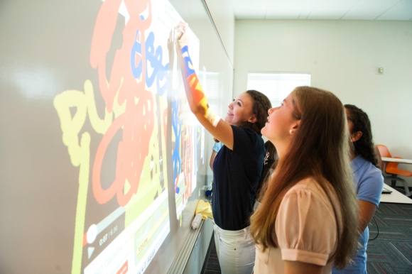 Tampa Preparatory School Has Front-Row Seat To Collaborative Learning With Epson BrightLink Finger-touch Interactive Projectors
