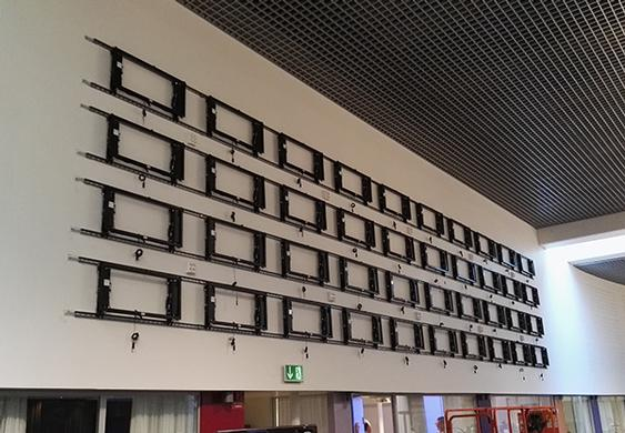 40 Display Video Wall