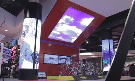 Sports Retail Store Comes Fully Equipped