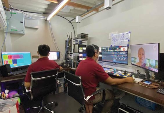 Thai Monastery Broadcasts Timeless Buddhist Teaching with TriCaster® and NDI®