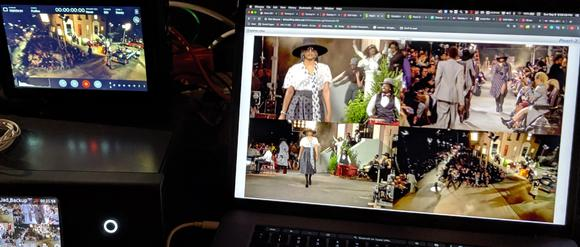 Tommy Hilfiger Brings Viewers to the Runway with Matrox Monarch EDGE