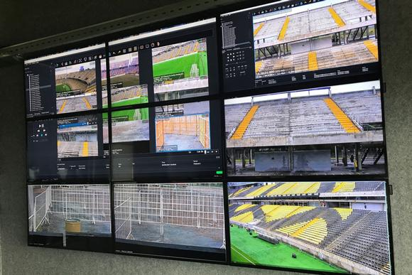 Uruguay's largest football stadiums rely on Datapath's iolite 600