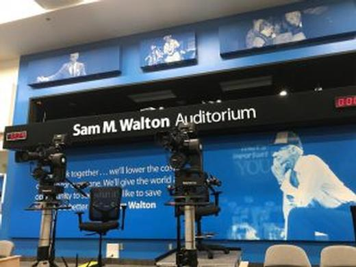 Walmart Finds Value In Telemetrics Robotics And Hitachi Cameras For Corporate Meetings And Events