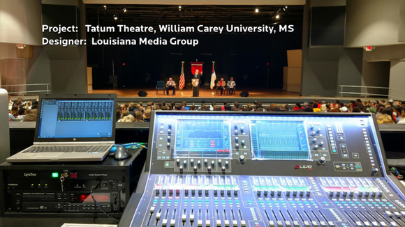 LMG Installs LynTec's NPAC at William Carey University Theater