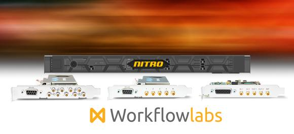 AJA Corvid Powers Up to 4K Video & Audio I/O for WorkflowLabs' Nitro Broadcast Video Server
