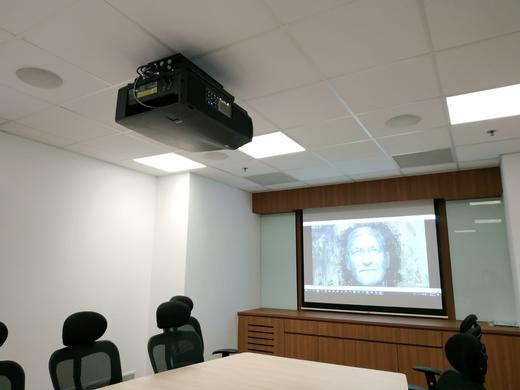 Barco F80 projector enhances Singapore Nanyang Technological University's boardroom