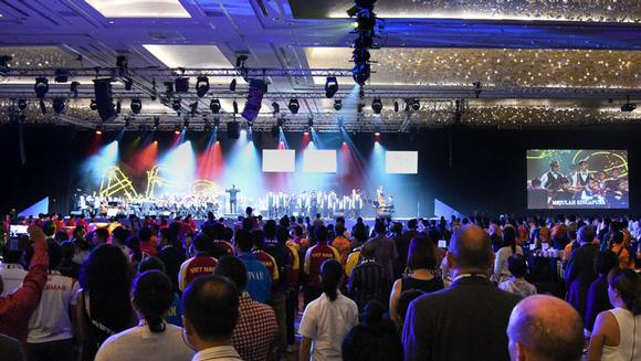 Sands Expo and Convention Centre Invests in Singapore's First Meyer Sound LYON and LEOPARD Systems