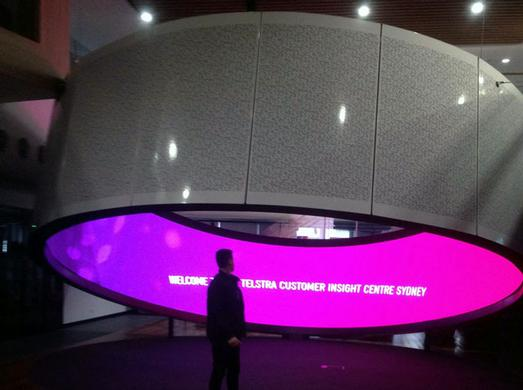 Telstra Showcases Technology Leadership with Meyer Sound Constellation at Corporate Headquarters in Australia