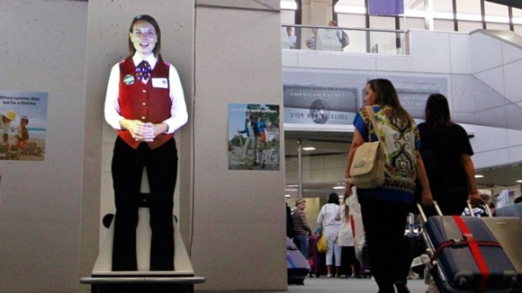 Airus Media's Airport Virtual Assistant Puts on a New Face with Casio's LampFree™ Projectors