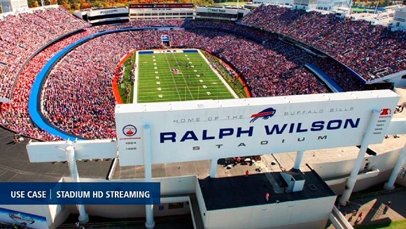 Buffalo Bills Choose VITEC's IPTV Video  Streaming System for HD Video at Ralph  Wilson Stadium