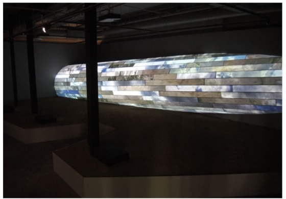 CASIO'S SHORT THROW PROJECTORS ILLUMINATE BRADEN KING AND MATTHEW MOORE'S CUMULUS EXHIBITION