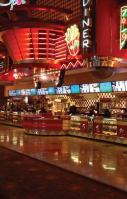 NEC Display: Carmike Cinemas' Concession Stands