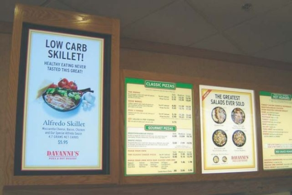 NEC Display: Davanni's Pizza & Hot Hoagies