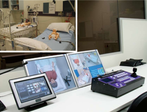 Students Record Simulated Healthcare with Vaddio PTZ Cameras