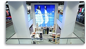 CHIEF HELPS INSTALLER CREATE A DYNAMIC VIDEO WALL FOR H&M