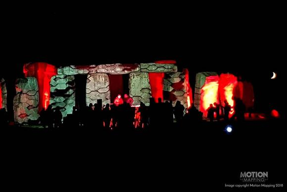 Datapath plays its part at ground-breaking show at iconic Stonehenge venue