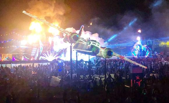 Projection Mapping Innovation Lights Up The Outdoor Music Festival Scene
