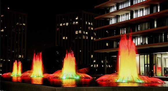 Los Angeles Department of Water & Power (LA DWP) Fountain
