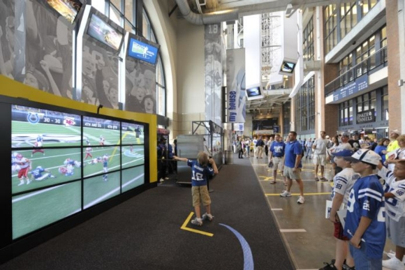 NEC Display: Lucas Oil Stadium