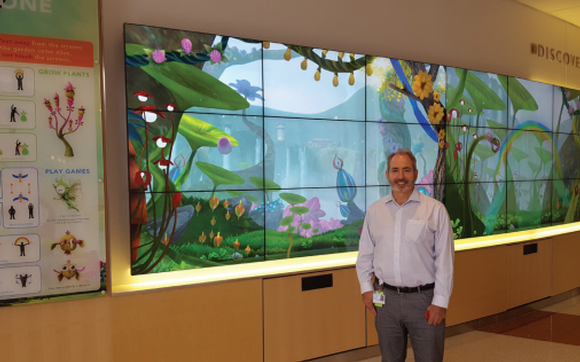 NEC Display : Nemours Hospital