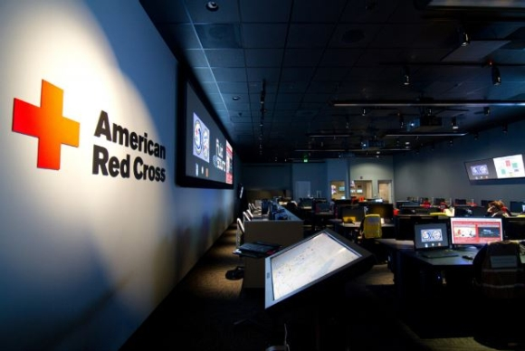 NEC Display: American Red Cross