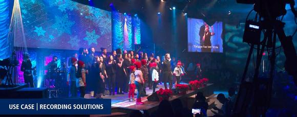 VITEC Custom Recording Solutions Save Time for Summit Church in DC