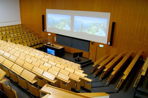 Steering the Sound: Meyer Sound CAL at Swiss University Lecture Halls